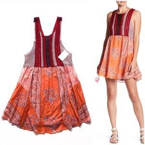 NWT Free People Katie's Mini Dress